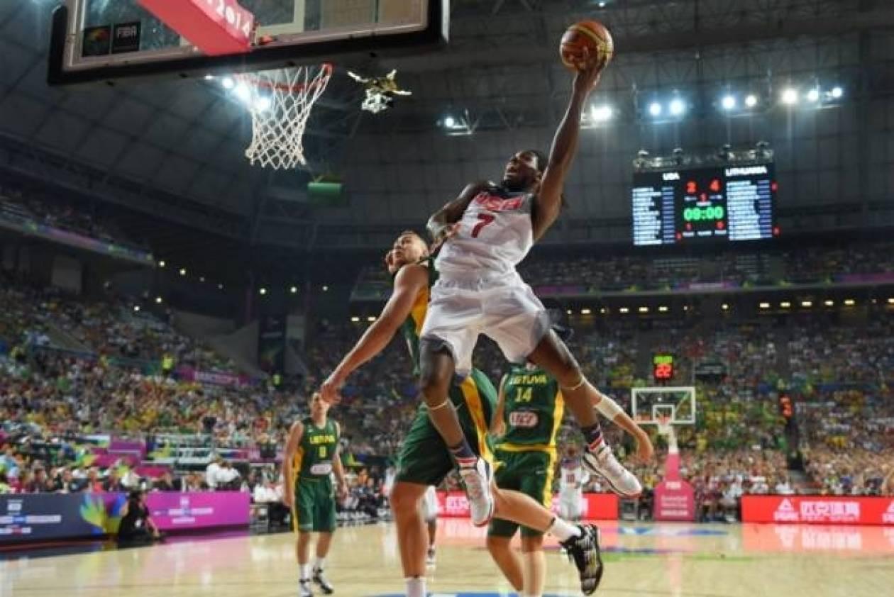 Μουντομπάσκετ 2014: ΗΠΑ - Λιθουανία 96-68