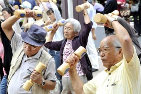 Ξεπέρασαν κάθε ρεκόρ οι υπεραιωνόβιοι στην Ιαπωνία