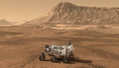 Το ρόβερ Curiosity έφθασε στον προορισμό του, το βουνό «Σαρπ» του Άρη