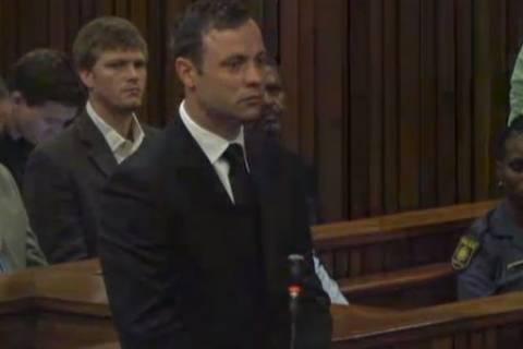 Δίκη Πιστόριους: Η στιγμή που ακούει την απόφαση για την ενοχή του
