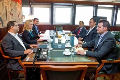 Η ασφάλεια και η αστυνόμευση στην Αττική στην ατζέντα συνάντησης Κικίλια - Δούρου