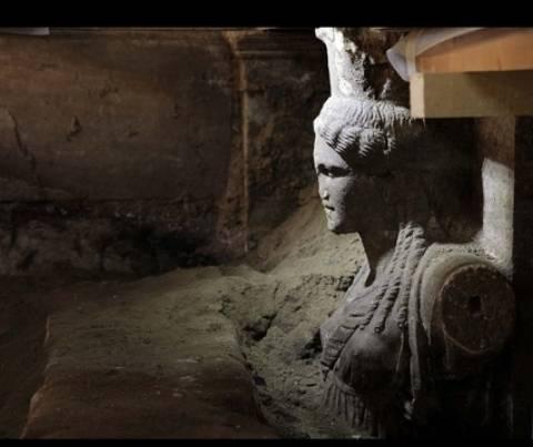 Αμφίπολη: Εντοπίστηκε και τέταρτος τοίχος