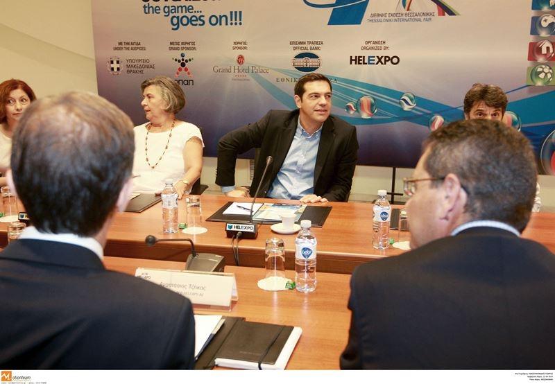 ΔΕΘ: Διαδοχικές συνταντήσεις του Τσίπρα  με φορείς της Θεσσαλονίκης (pics)