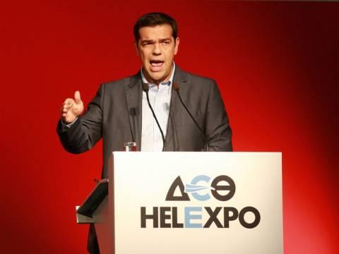 Τσίπρας στη ΔΕΘ: Δε μοιράζω υποσχέσεις, αναλαμβάνω δεσμεύσεις