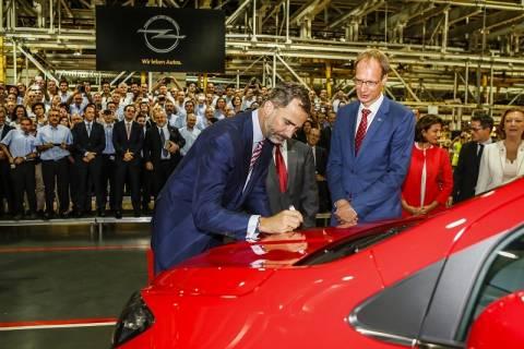 Το Opel Mokka στη γραμμή παραγωγής της Zaragoza