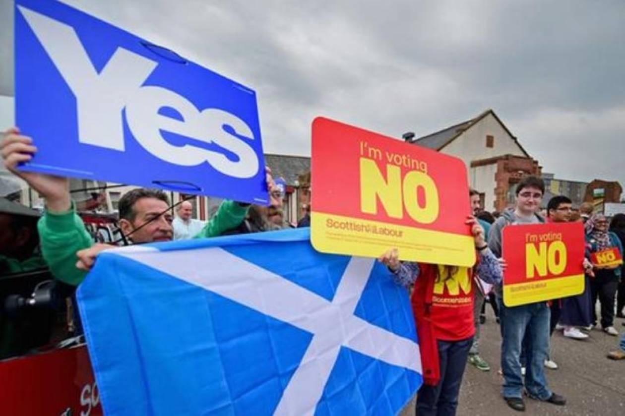 Σκωτία: Αμφίρροπη η «μάχη» της απόσχισης από το Ηνωμένο Βασίλειο