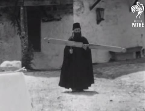 Βίντεο-Ντοκουμέντο: Δείτε πως ζούσαν οι μοναχοί στο Άγιο όρος το 1963