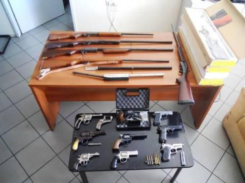 Εντοπίστηκαν όπλα σε αποθήκη του 55χρονου αυτουργού της δολοφονίας στην Χαλκίδα