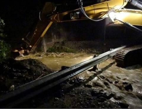 Ιωάννινα: Κατολισθήσεις από τις βροχοπτώσεις στα Τζουμέρκα