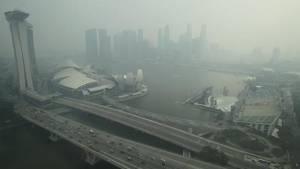 «Ανθυγιεινός» ο αέρας στη Σιγκαπούρη – Έφτασε σε νέα υψηλά επίπεδα η ρύπανση