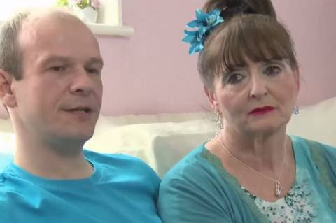 Αυτός 36 και αυτή 68! Έκλεισαν 15 χρόνια παντρεμένοι (pics)