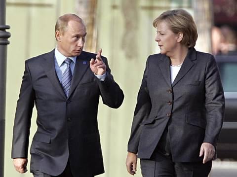 Συμφώνησαν για διατήρηση εκεχειρίας στην Ουκρανία Πούτιν και Μέρκελ