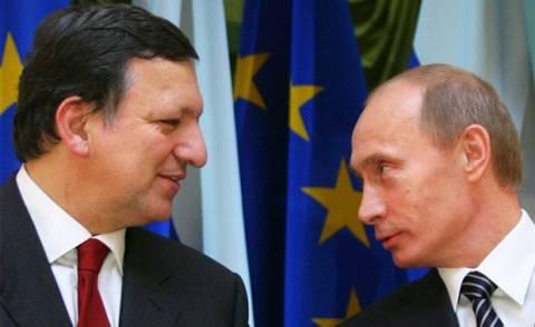 Μπαρόζο-Πούτιν υπογραμμίζουν τη σημασία της συνέχισης του διαλόγου