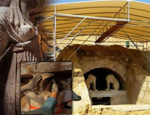 Amphipolis: Obstacles on the way to the secret of the tomb