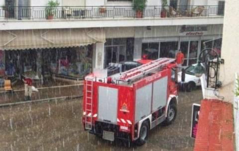 Αττική: Δεκάδες κλήσεις στην Πυροσβεστική λόγω κακοκαιρίας