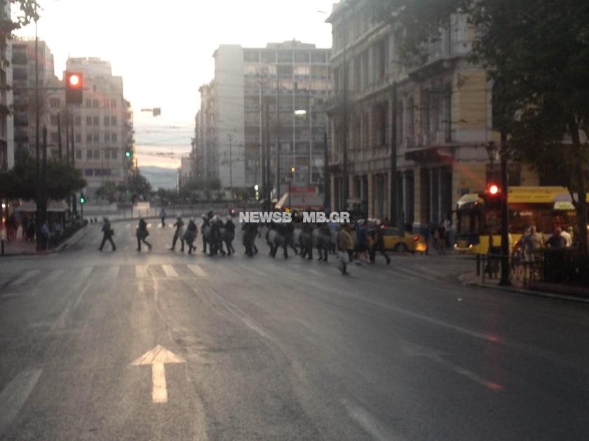 Παύλος Φύσσας: Σε εξέλιξη συγκέντρωση αντιεξουσιαστών στα Προπύλαια