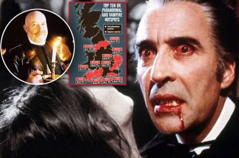 Βαμπίρ στη... Μεγάλη Βρετανία - Σενάρια βγαλμένα από ταινίες τρόμου