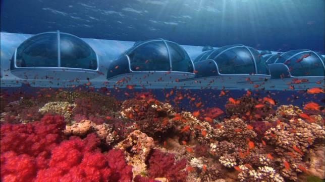 Δείτε το υποβρύχιο ξενοδοχείο που χτίζεται 13 χρόνια! (pics)