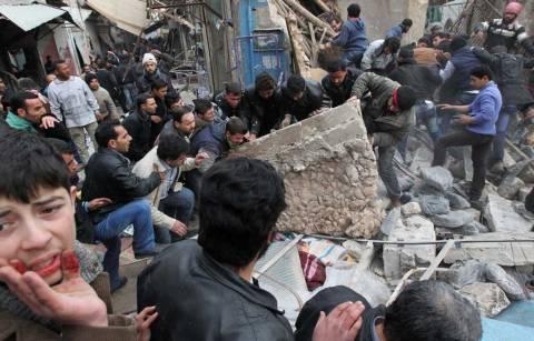 Συρία: Δεκάδες νεκροί από το διήμερο βομβαρδισμό