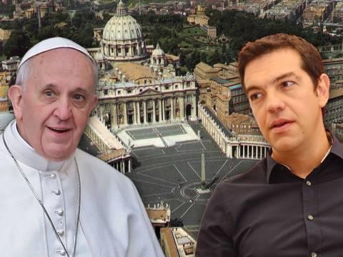 Ο Τσίπρας στον Πάπα των φτωχών