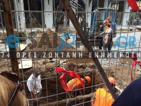 Θεσσαλονίκη: Βρέθηκαν ανθρώπινα οστά σε έργα του μετρό