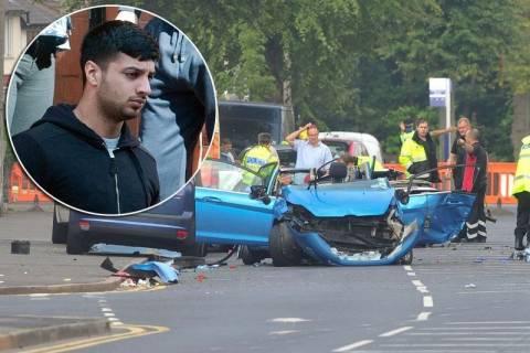 Βρετανία: Δυστύχημα με supercar που «κόβει» την ανάσα (pics+vid)