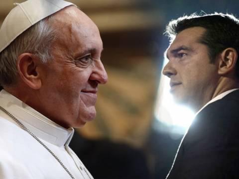 Ο πάπας Φραγκίσκος υποδέχεται τον Αλ. Τσίπρα