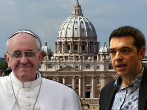Τι συζήτησε ο Τσίπρας με τον πάπα Φραγκίσκο