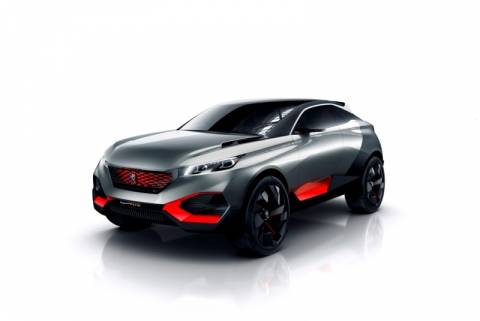 Peugeot Quartz Concept: Ένα crossover μπροστά από την εποχή του