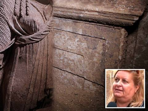 Αμφίπολη: Για λαμπρό μακεδονικό τάφο μιλά η Κ. Περιστέρη