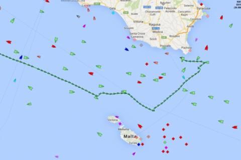 Από ηπατίτιδα πάσχει πιθανότητα ο ναυτικός που αρνήθηκε να βοηθήσει η Μάλτα