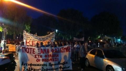 Ηράκλειο: Συλλαλητήριο για τον ένα χρόνο από τη δολοφονία του Παύλου Φύσσα (vid)