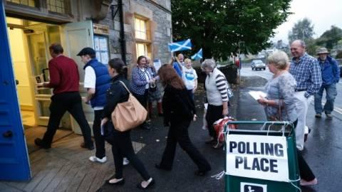 Δημοψήφισμα Σκωτία: Τι δείχνει το πρώτο exit poll