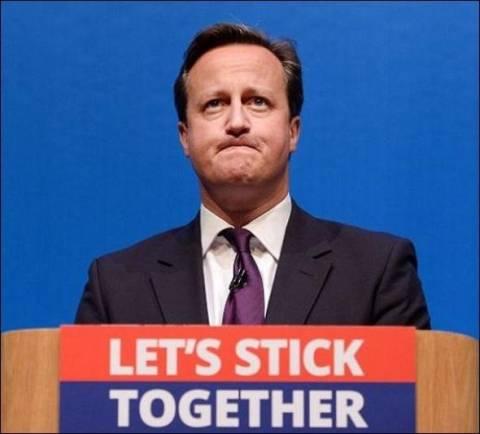 Σκωτία: Συγχαρητήρια Κάμερον για την εκστρατεία του «ΟΧΙ»
