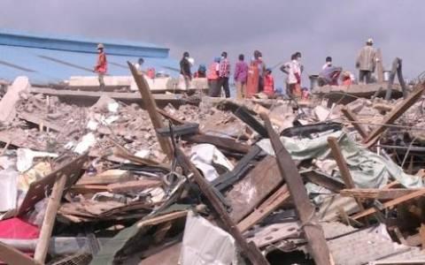Νιγηρία: Τουλάχιστον 84 νεκροί από κατάρρευση κτιρίου