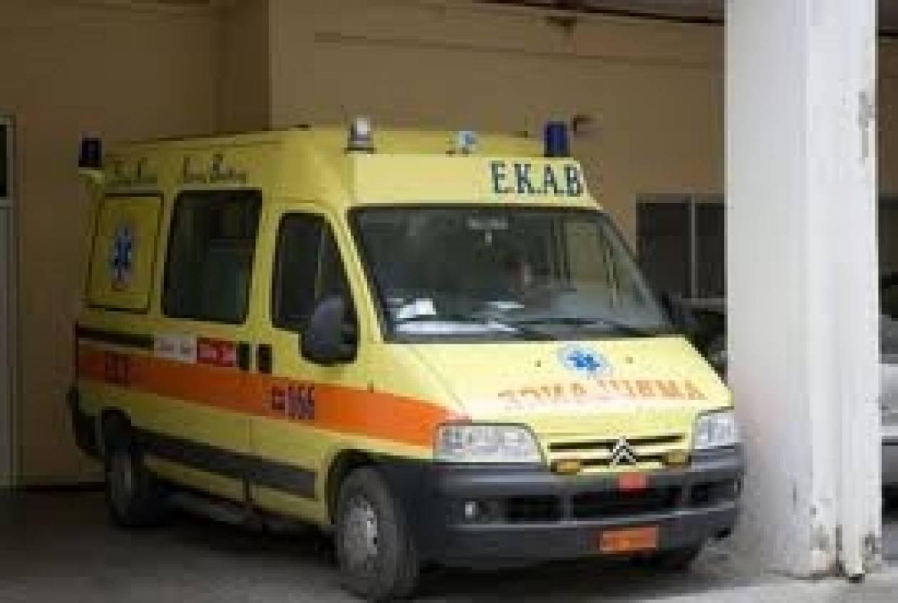 Πρέβεζα: Τροχαίο ατύχημα με σοβαρό τραυματισμό δικυκλιστή (pic)