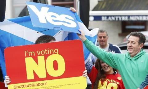 Δημοψήφισμα Σκωτία: Περισσότερες εξουσίες στα έθνη του Ηνωμένου Βασιλείου