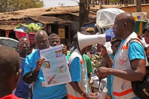 Έμπολα: Συλλήψεις για τις δολοφονίες μελών ενημερωτικής ομάδας στη Γουινέα
