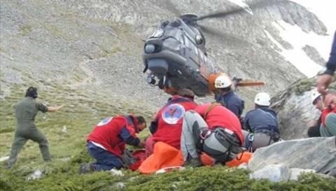 Θεσσαλονίκη: Στο 424 Στρατιωτικό Νοσοκομείο μεταφέρθηκε ο ορειβάτης