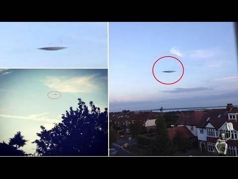 UFO πάνω από κατοικημένη περιοχή (pic+video)