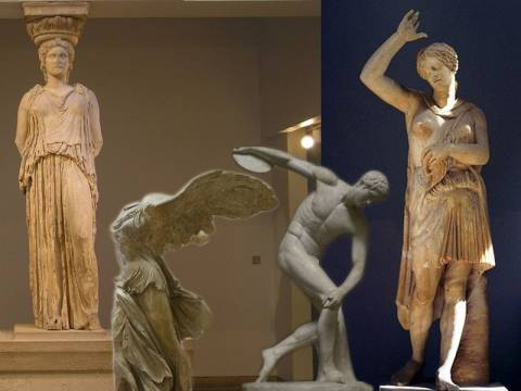 Η Ελλάδα στα μουσεία του κόσμου - Γλυπτά και αγάλματα