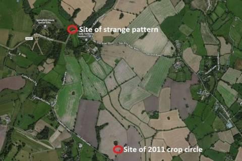 Κόβεντρι: Μυστήριο με νέο αγρογλυφικό στο χωριό των Ναϊτών (pics)