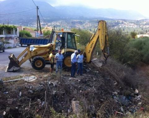 Κρήτη: Ξεκινούν καθαρισμούς εν όψει του Χειμώνα στον Δήμο Αποκόρωνα