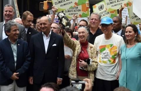 Διαδηλωτές σε 159 χώρες πραγματοποίησαν πορεία για την κλιματική αλλαγή