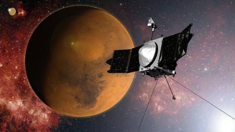 Σε τροχιά γύρω από τον Άρη το Maven