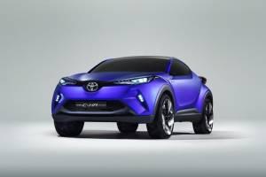 Toyota: Οι πρώτες  φωτογραφίες του C-HR concept
