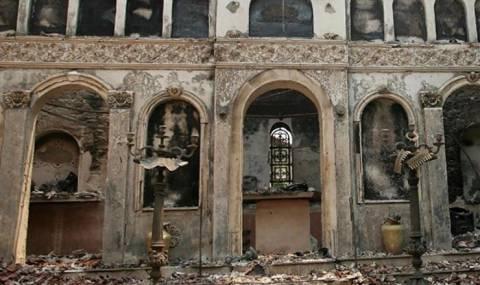 Πρόκληση! Έκαψαν Ορθόδοξη εκκλησία στη Καππαδοκία για γυρίσματα σίριαλ
