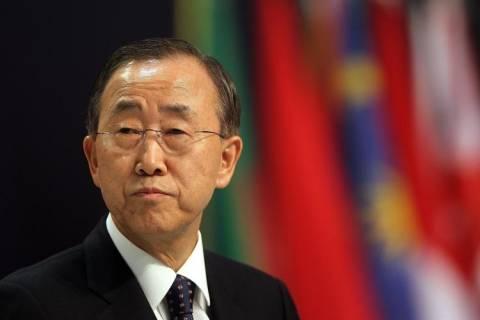 Κι Μουν: Στόχος των επιθέσεων αυτοί που απειλούν τη διεθνή ειρήνη