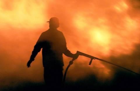 Κρήτη: Πυρκαγιά στο Βιλανδρέδο του Ρεθύμνου