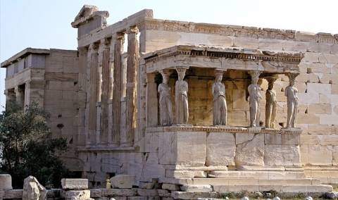 The story of the Caryatids of Erechtheion Temple (vid)